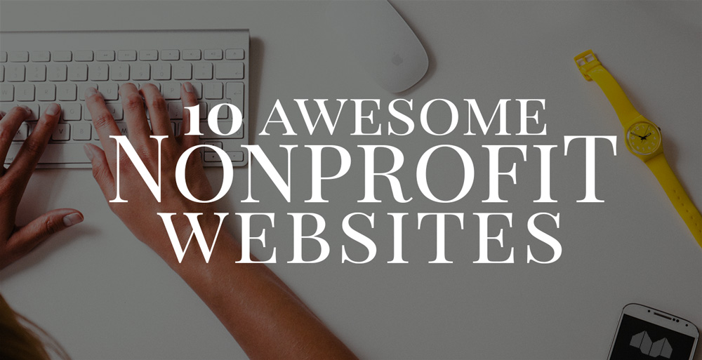 10 Great Nonprofit Websites blog post featured image by https://www.mittun.com