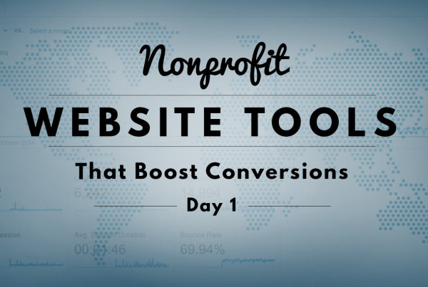 Nonprofit Website Tools that boost conversions