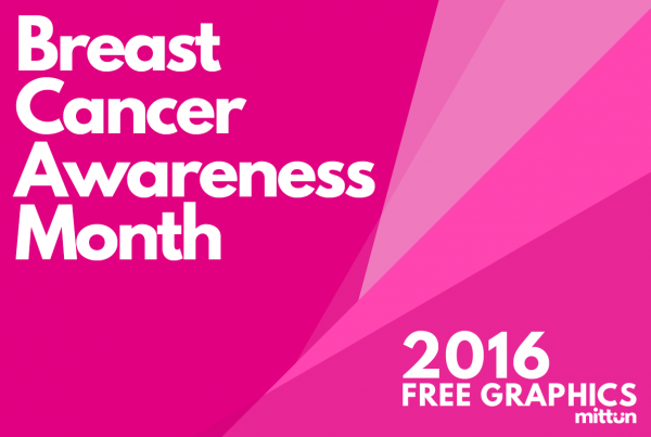 Breast cancer awareness month graphic - by mittun - featured graphic