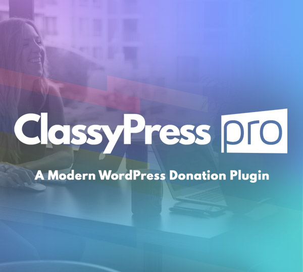 ClassyPress PRO by Mittun - WordPress Donation Plugin - Featured Image