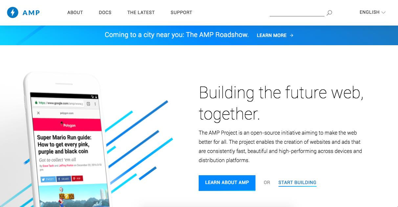 Accelerated Mobile Pages - AMP Websites that load fast AF